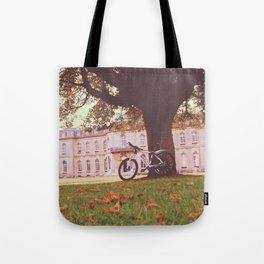 Manor Bike ride Tote Bag