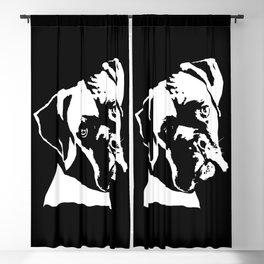 BOXER DOG Blackout Curtain