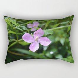 Little Purple Flower, Hawaii Rectangular Pillow