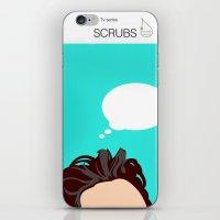 scrubs iPhone & iPod Skins featuring Scrubs Tv books by Fabio Castro