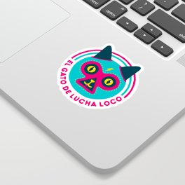 LUCHADORABLE Sticker