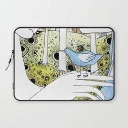 Spring-love-bird-arms-sheandhim Laptop Sleeve