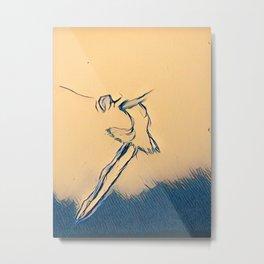 A Leap Metal Print