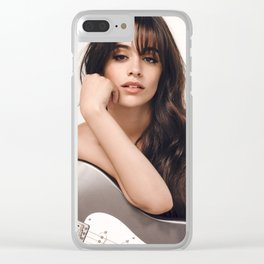 Camila Cabello 4 Clear iPhone Case