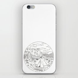 Yurt Dreams iPhone Skin