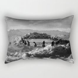 The Rapture Dancers Rectangular Pillow
