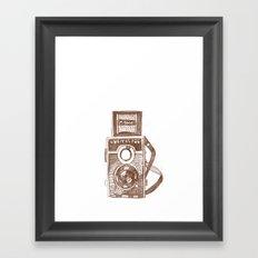 Camera Sketch 3 Framed Art Print