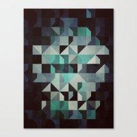 noir Canvas Prints featuring noir? by Spires
