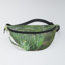 SPRING GROWTH ON A STREAM Fanny Pack