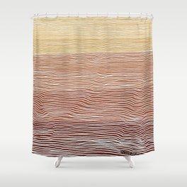Sunset Jazz Shower Curtain