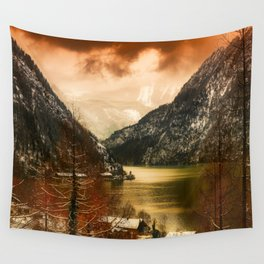 Austrian Wanderlust Wall Tapestry