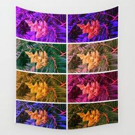 Sideways Sumac Collage Wall Tapestry