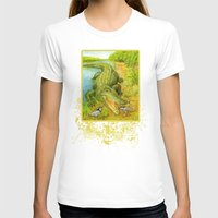 crocodile T-shirts featuring Crocodile by Natalie Berman
