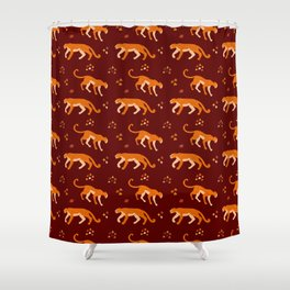 Jaguars 1 Shower Curtain