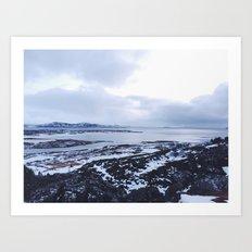 Iceland National Park Art Print