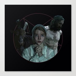 The Witch alternative poster Canvas Print