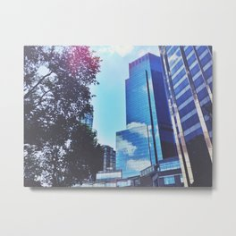 Mirrors show only sky Metal Print