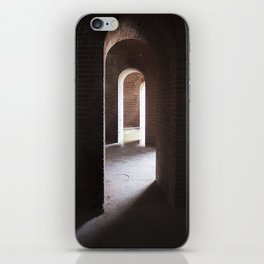 Arches, darkness into ligt iPhone Skin