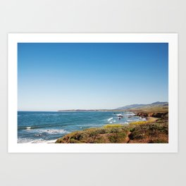 The Central Coast Calls Art Print