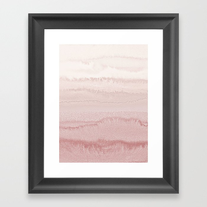 WITHIN THE TIDES - BALLERINA BLUSH Gerahmter Kunstdruck