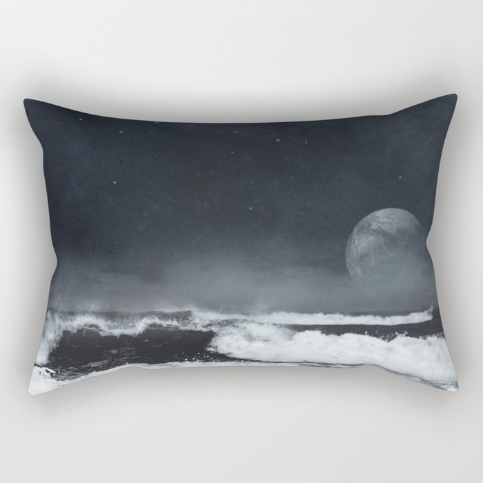 9th Nightwave Rectangular Pillow