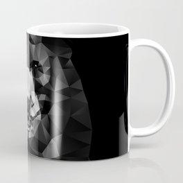 Bear - Black Geo Animal Series Coffee Mug