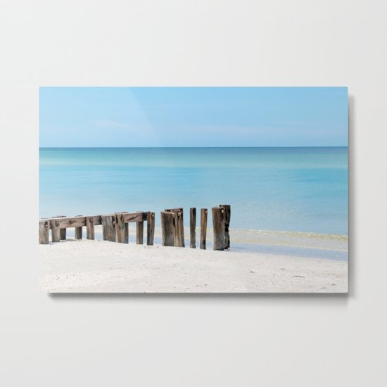 Leading to the Water Metal Print