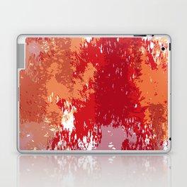 Red Orange Watercolor Laptop & iPad Skin