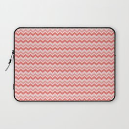 Coral Chevron Laptop Sleeve