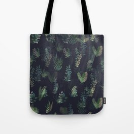 green garden at nigth mirror!!! Tote Bag