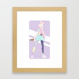 Pastel Days Framed Art Print