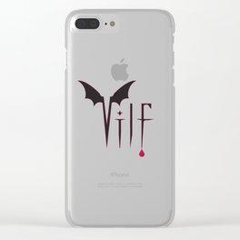 V.I.L.F. Clear iPhone Case