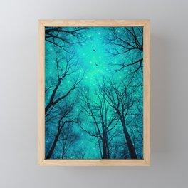 A Certain Darkness Is Needed II Framed Mini Art Print