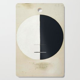 Hilma Af Klint Buddha's Standpoint In The Earthly Life Cutting Board