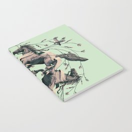 Horses and birds Notebook
