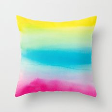 Watercolor I Throw Pillow
