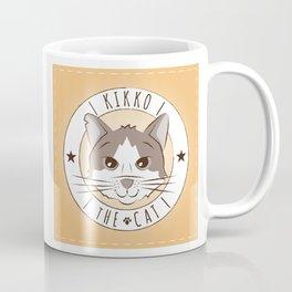 kikko the cat - Logo Coffee Mug