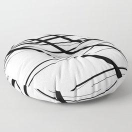 Urban Abstract V Floor Pillow