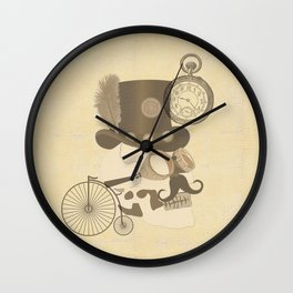 Steam Punked Wall Clock