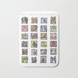 Pet Compilation Bath Mat