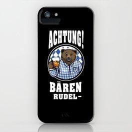 Funny Bayern Tirol Funny Sayings Oktoberfest Mens Fun T-Shirt iPhone Case