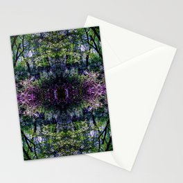 Pleasure of the Pathless Woods collage Stationery Cards