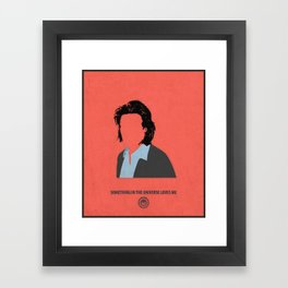 Gaius Baltar Framed Art Print