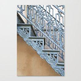 Savannah Blue Staircase Canvas Print