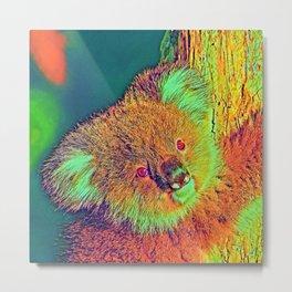 AnimalColor_Koala_002_by_JAMColors Metal Print
