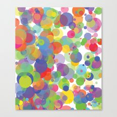 Candy Dots Canvas Print