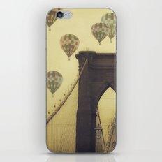 Balloons Over the Bridge iPhone & iPod Skin