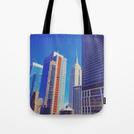 Morning Empire Tote Bag