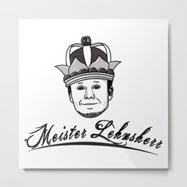 German King Metal Print