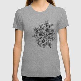 Flower Je t'aime T-shirt